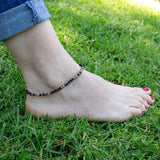 Anklets - Onyx And Agate Anklet