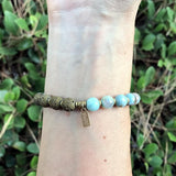 Bracelets - Dream Agate Essential Oil Diffuser Bracelet