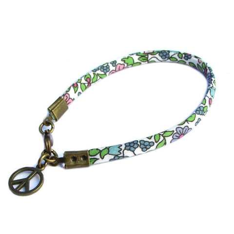 Liberty, ribbon bracelet