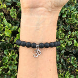 Bracelets - Patience And Soothing, Matte Onyx Gemstone Mala Bracelet