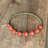Bracelets - Root Chakra Bangle Bracelet