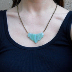 Necklaces - Aventurine Chain Necklace