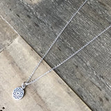 Necklaces - Crown Chakra Sterling Silver Chain Necklace