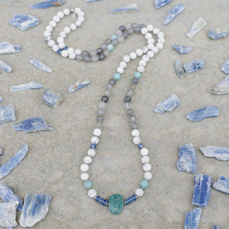 Necklaces - Renewal Gemstones Hand Knotted Mala Necklace