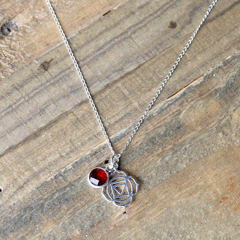 Necklaces - Root Chakra Charm Necklace