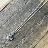 Necklaces - Root Chakra Sterling Silver Chain Necklace