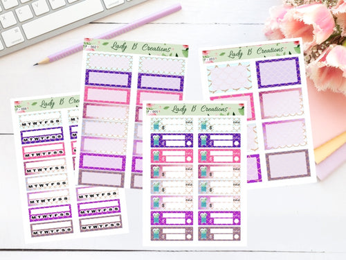 Mermaid Planner Sheets