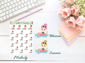 Planner Girls - Summer Fun - Pool
