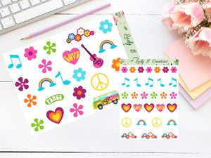 Hippie Retro Pack - LIMITED TIME comes with 2 FREE die cuts