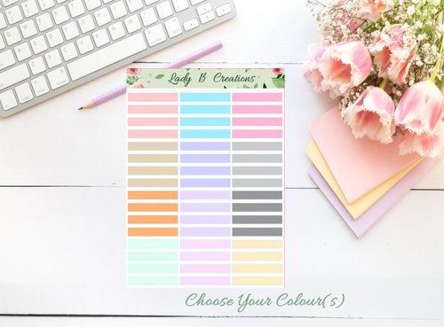 Leanne Baker CUSTOM - Headers for Meal Planner Page