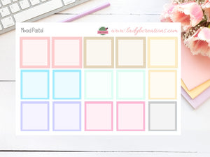 Leanne Baker & Happy Planner Classic Monthly Boxes - Colour - You Choose