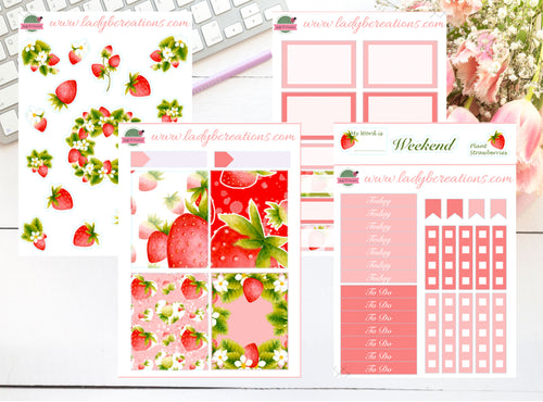 Mini Kit - Strawberries - Pink Berry