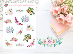 Decorative - Floral Flower Mix
