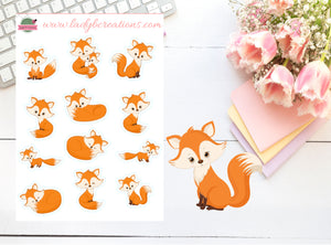 Decorative - Woodland Foxes