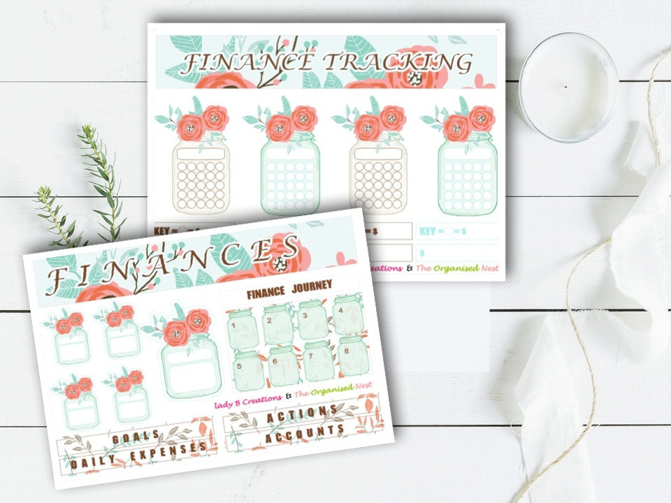 Finances in Bloom - Plant Your Plan Kit
