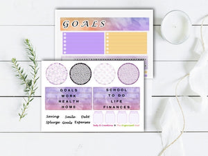 Finances in Bloom WATERCOLOUR -  Grow Your Goals Kit