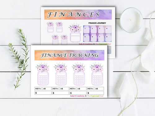 Finances in Bloom WATERCOLOUR - Plant Your Plan Kit