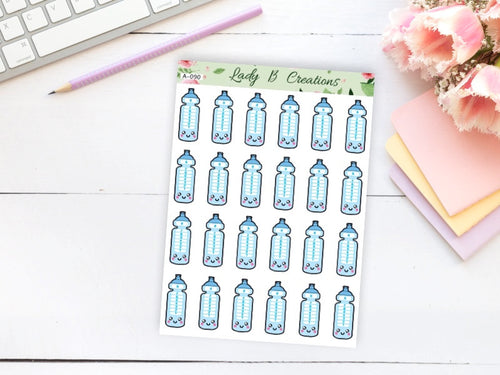 Water Bottle, Water Intake Tracker