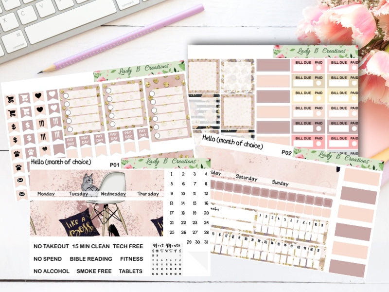 Monthly Kit - Like a Boss - Build Your Own - Leanne Baker Daily