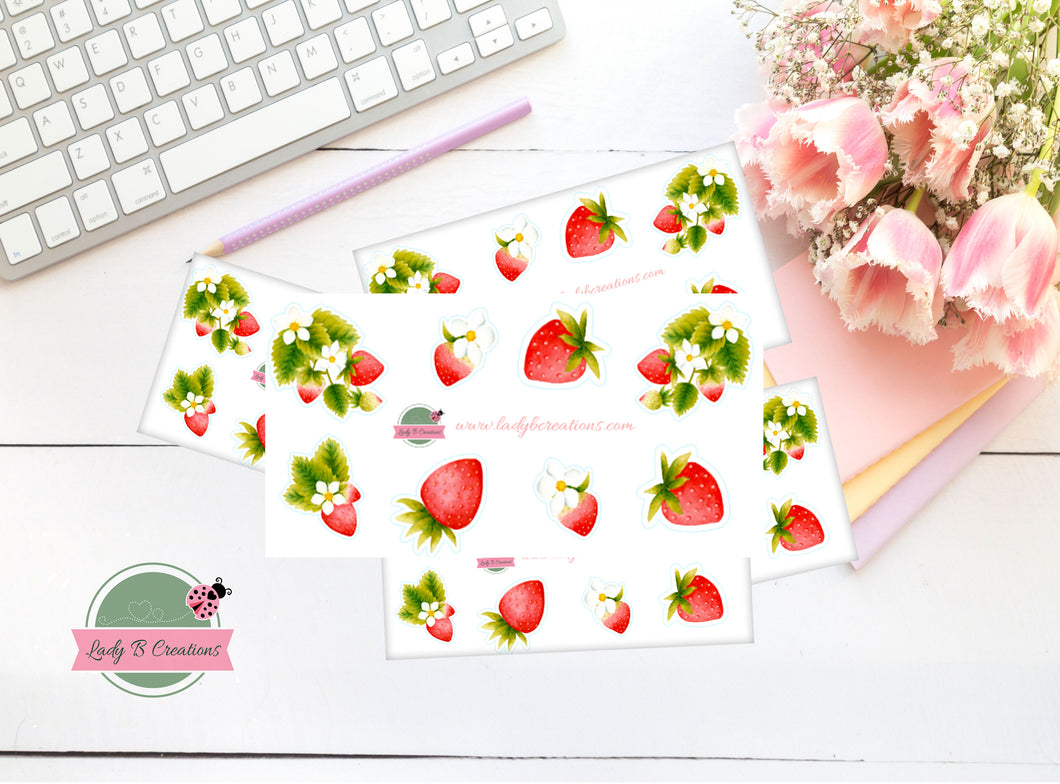 Mini Sheet (Sampler) - Strawberry