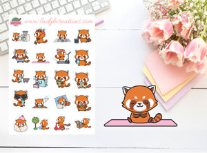 Activities - Red Panda Mixed Sheet