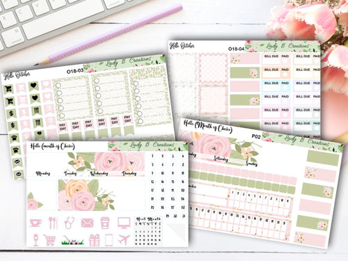 Spring Flowers - Build Your Own - Monthly Kit for Leanne Baker Daily