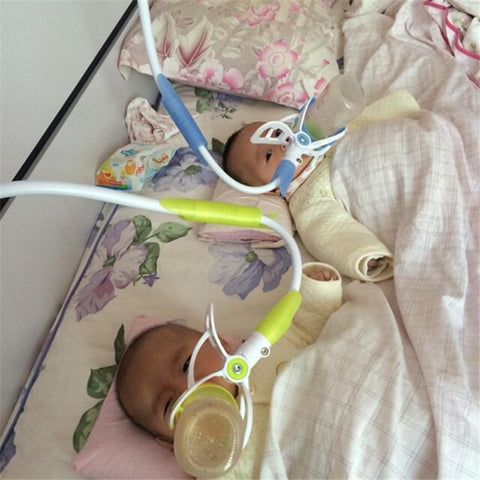Image of Hands free Baby Bottle Feeder