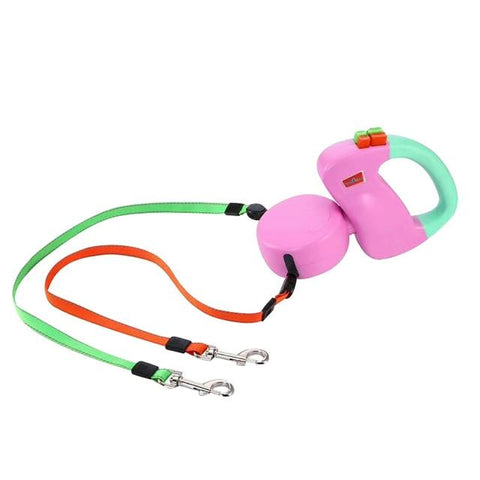 Double Dog Walking Telescoping Leash