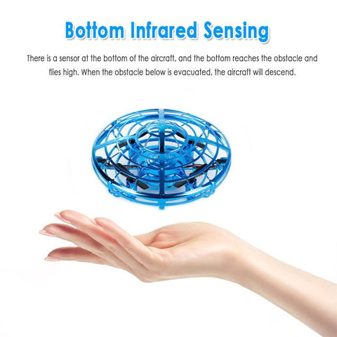 Image of Gesture Controlled UFO LED Drone