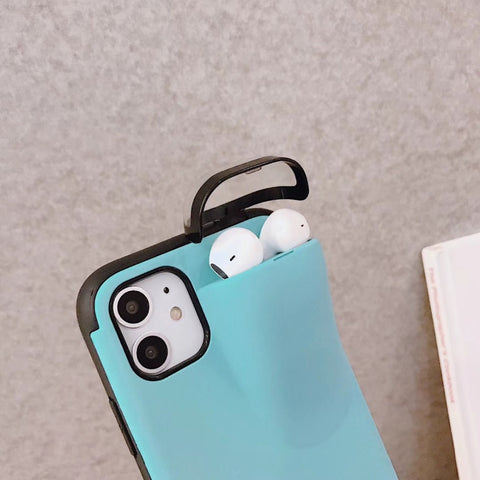 Image of Airpod & iPhone combo case