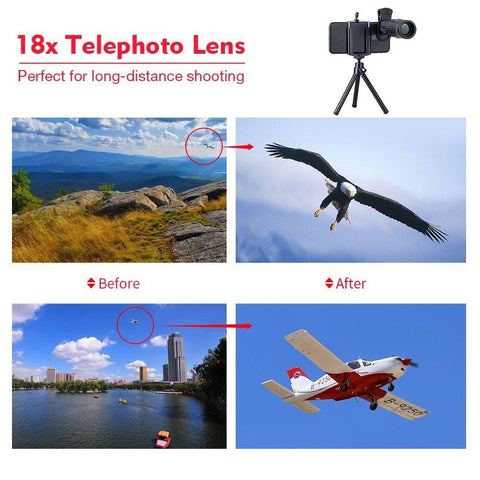 Image of Strongest Telephoto Cell Phone Lens (18X)