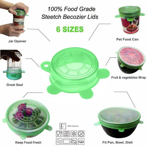 Silicone Instant Lids