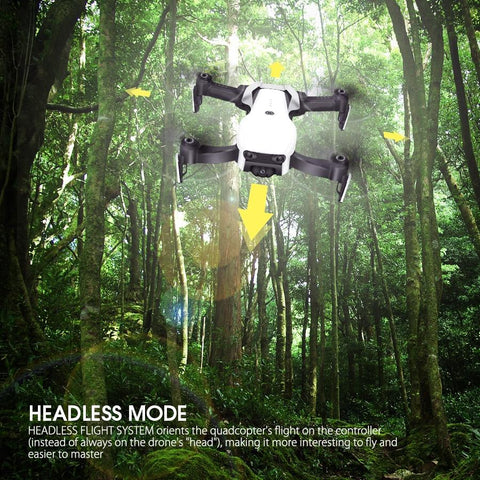Image of Headless Mode Feature, X-Wing Fold-able Quad-copter Drone, Quadcopter, Inexpensive Clone of Mavik PRO