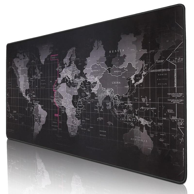Large world map Desktop Mouse pad