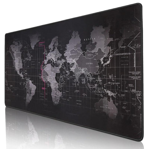 Image of Large world map Desktop Mouse pad