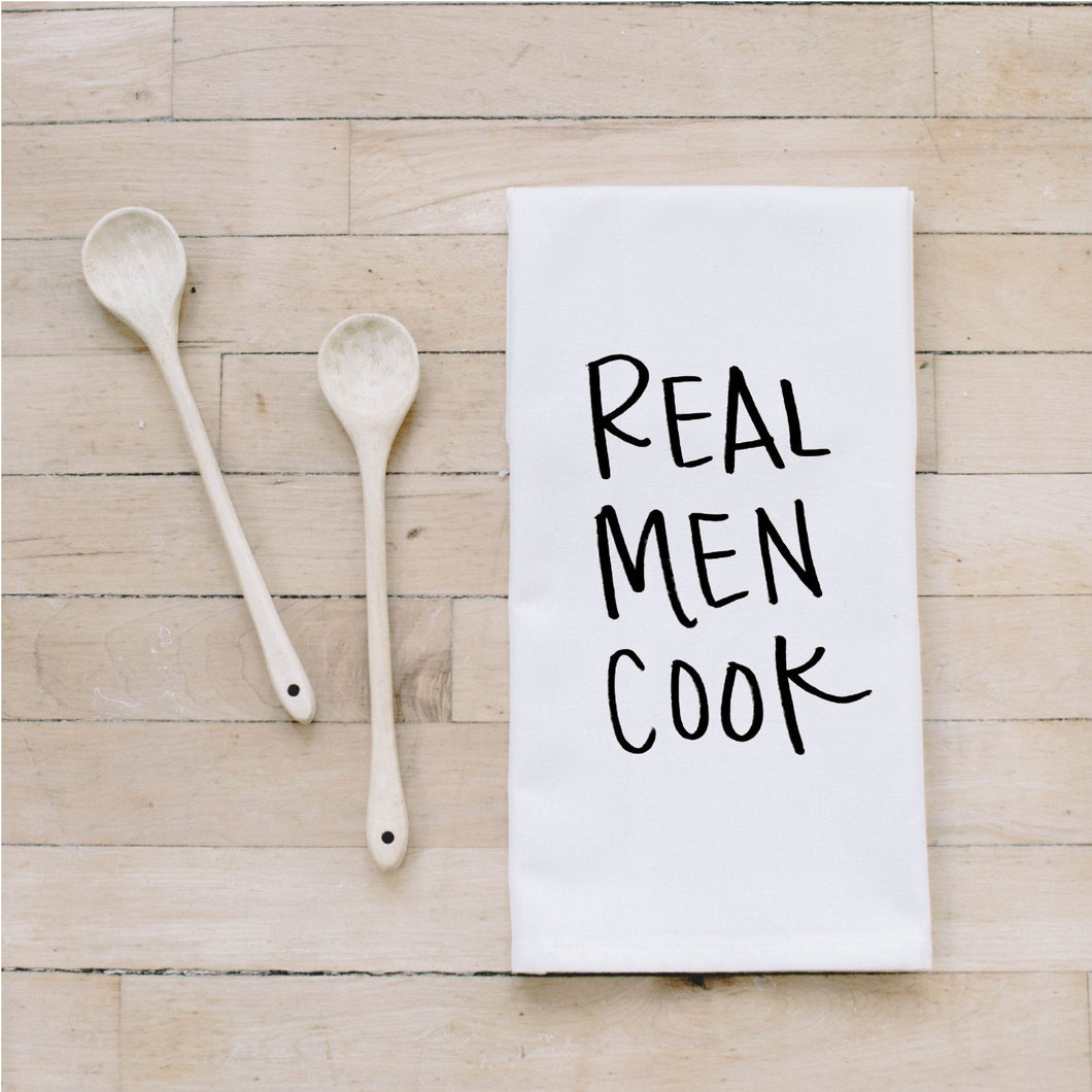 PCB Home - Real Men Cook Bar Towel