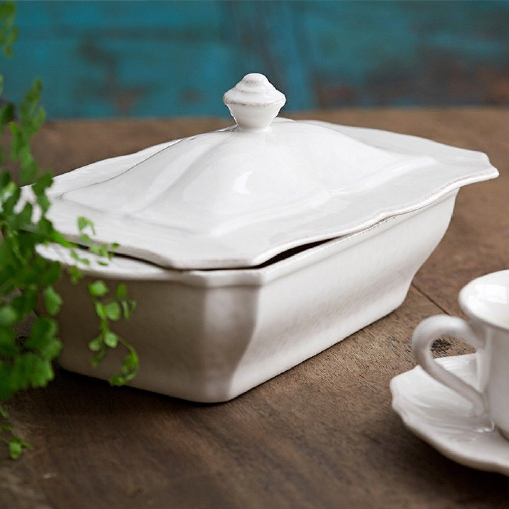 Impressions Rectangle Covered Casserole