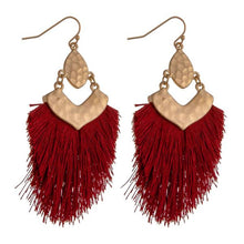 Metal Tassel Dangles
