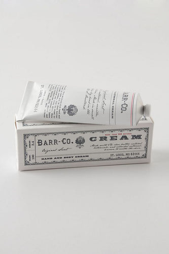 Barr-Co. 3.4oz.Hand Cream - Original Scent