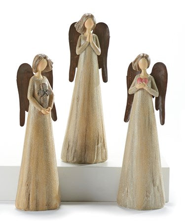 Driftwood Angel with Wings