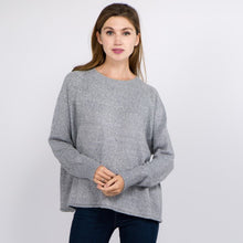 Gray Heather Knit Sweater