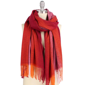 Ombre Brushed Oblong Scarf
