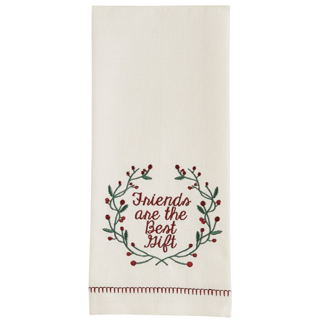 Friends Are The Best Gifts Tea Towel