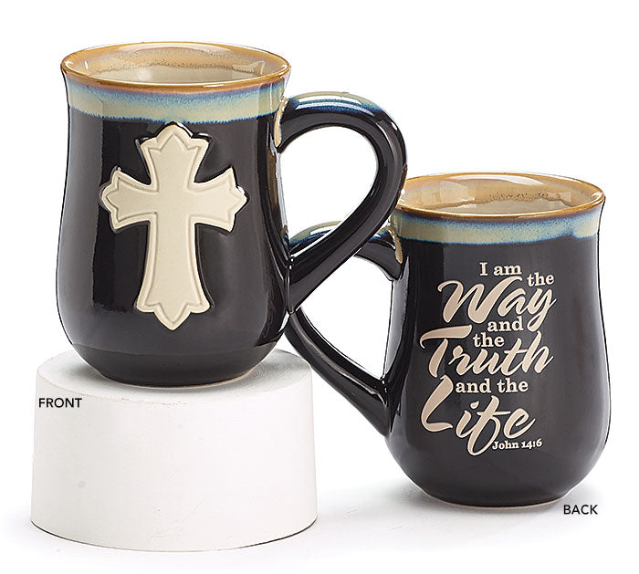 John 4:16 Mug with Cross