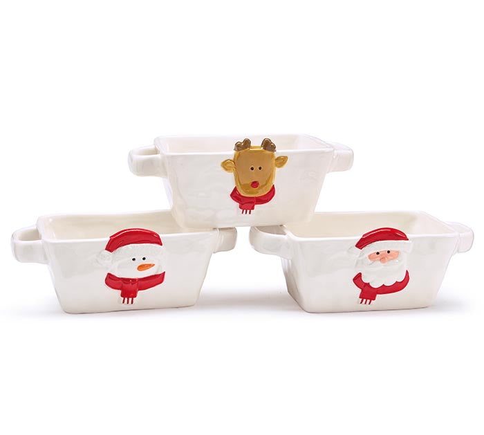 Christmas Character Rectangle Dish