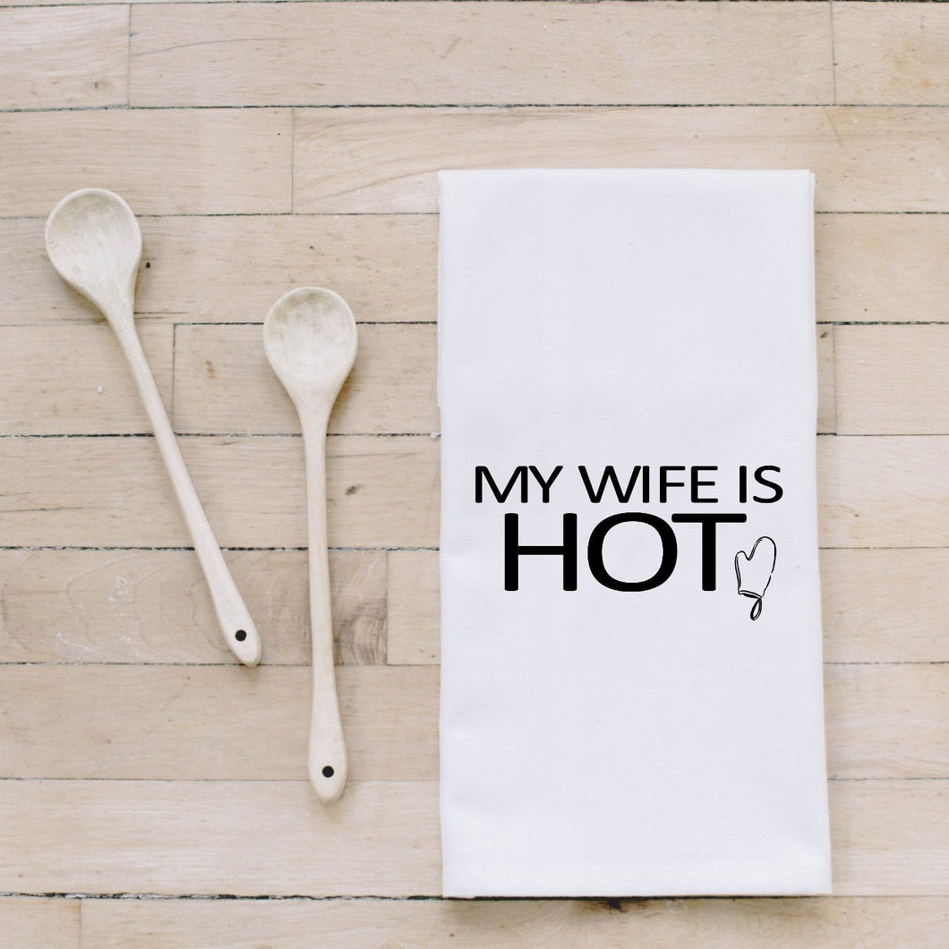 PCB Home - My Wife Is Hot Bar Towel