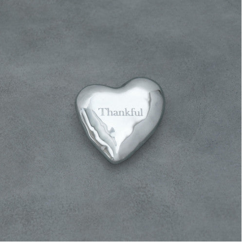 Giftables Engraved Heart Paperweight -
