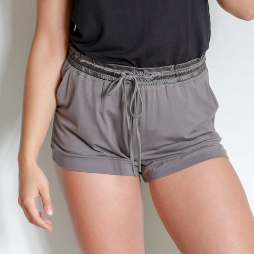 Bamboo Shorts - Earl Gray