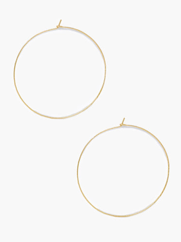 Gold-Fill Luxe Hoops