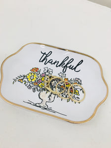 Thankful - Blessed Trinket Dish